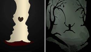 Les affiches des films Disney revisitées par l'artiste Rowan Stocks-Moore