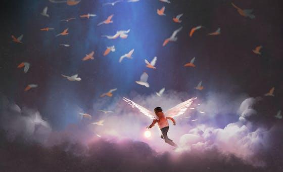 Les anges dans notre montagne