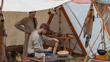 Les artisans au Moyen Âge