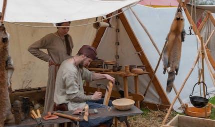Les artisans au Moyen-Age