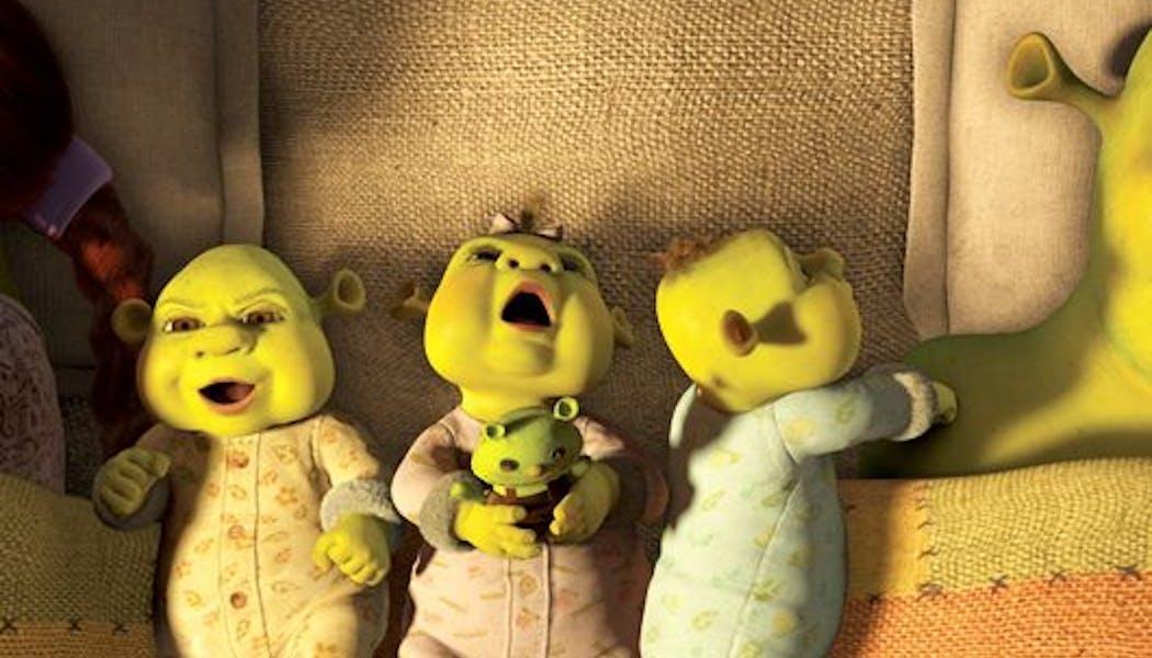 Les bébés Shrek
