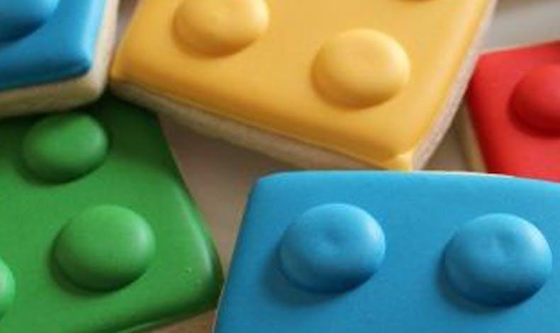 Les biscuits Legos géants
