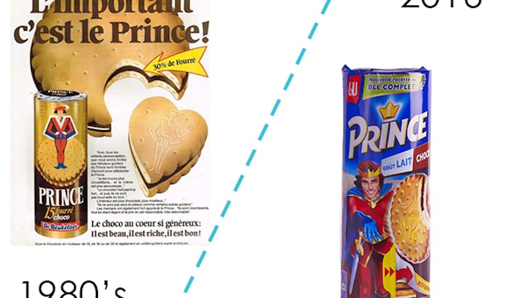 Les biscuits Prince de LU