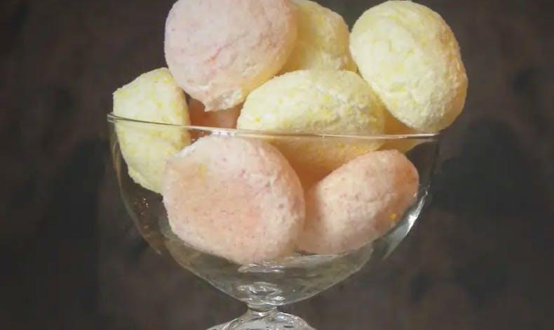 Les boules de coco acidulées
