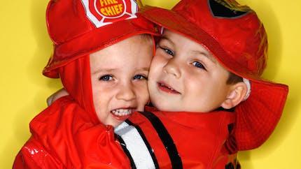 Les capitaines des pompiers