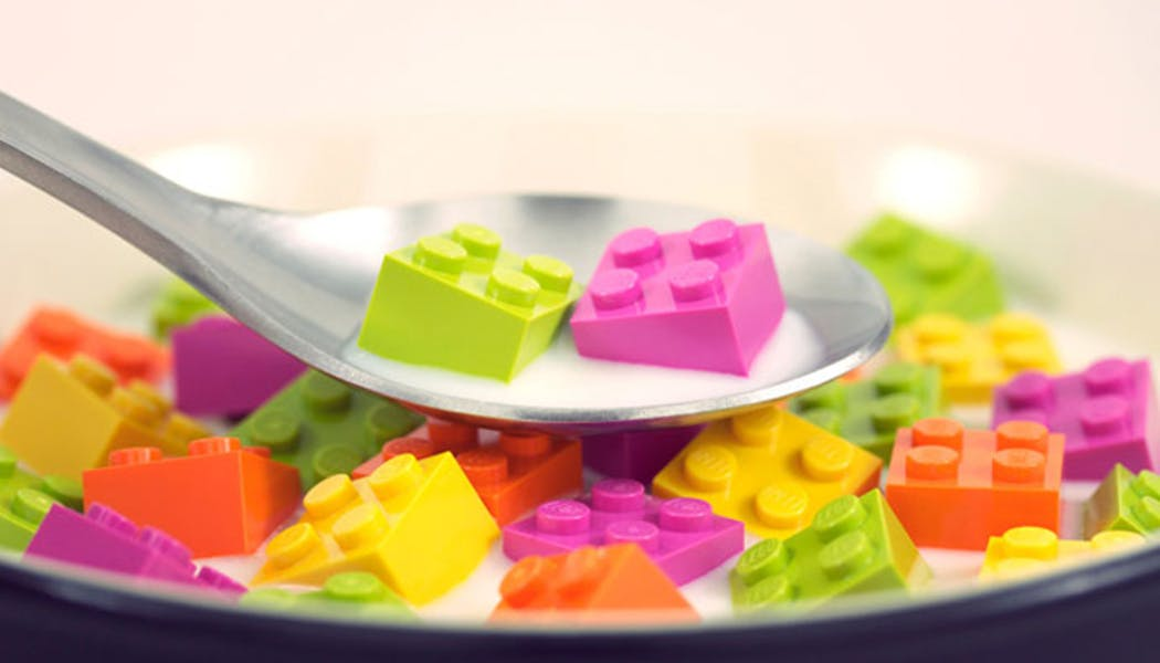 Les céréales LEGO