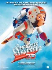 Affiche Les chimpanzés de l'espace 2