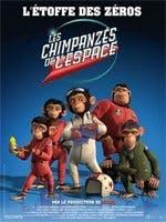 Affiche Les chimpanzés de l'espace