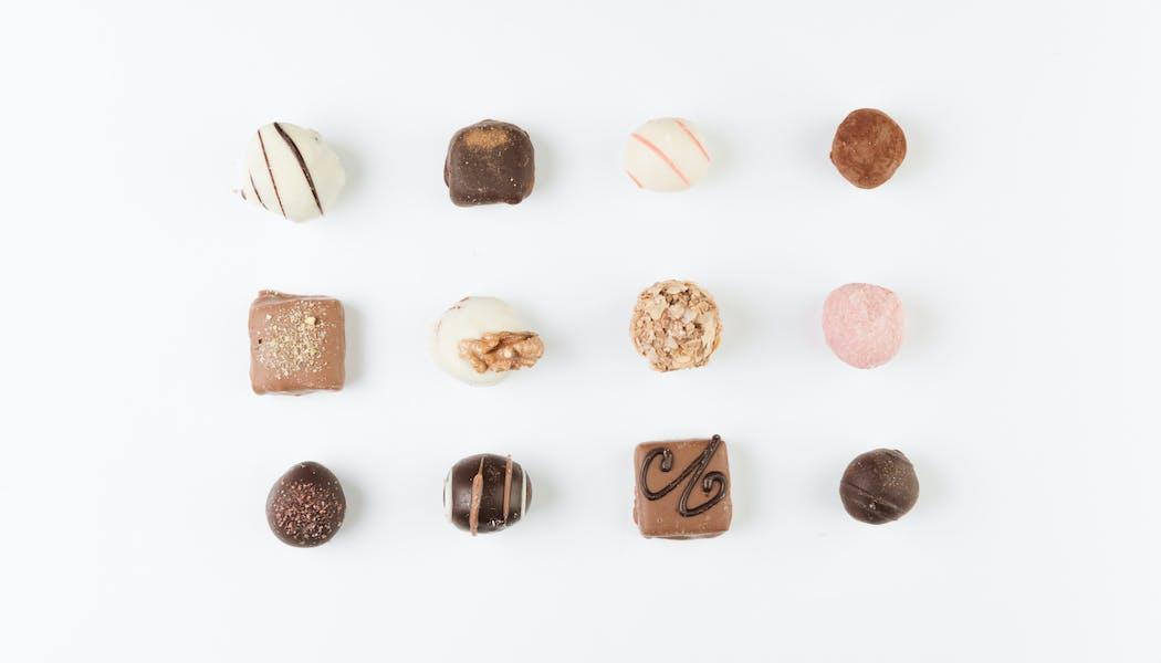 Les chocolats glacés