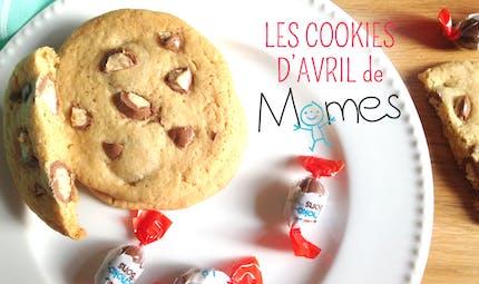 Les Cookies d'Avril (aux Kinder Schoko-Bons)