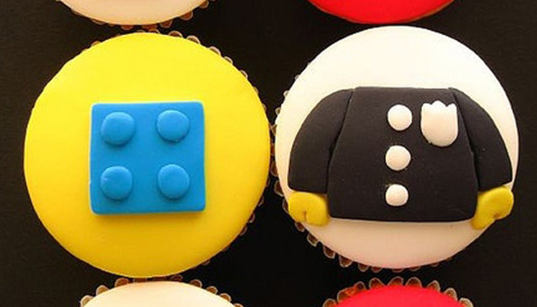 Les cupcakes Lego
