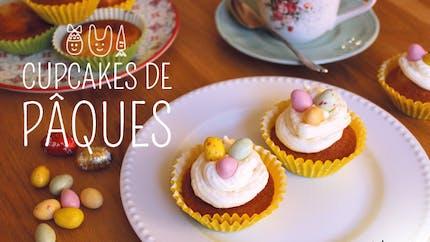 Les cupcakes-surprises de Pâques