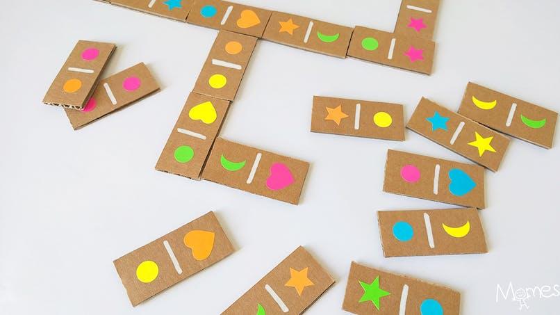 fabriquer des dominos