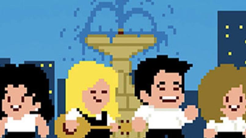 génériques séries années 90 pixel 8bits ready player one       warner bross