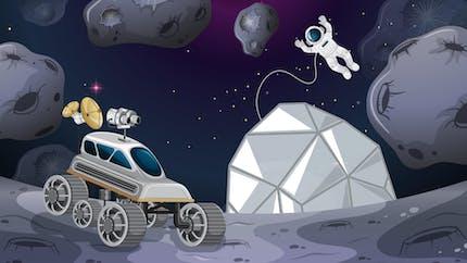 Les grandes étapes de la conquête spatiale