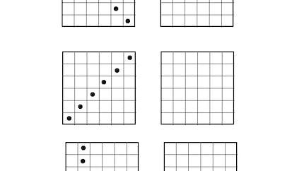 Les grilles identiques : exercice niveau 1