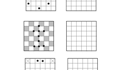 Les grilles identiques : exercice niveau 3