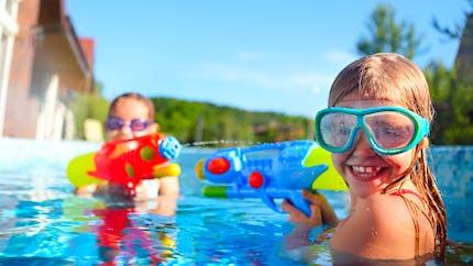 Les idées de jeux d'eau en piscine