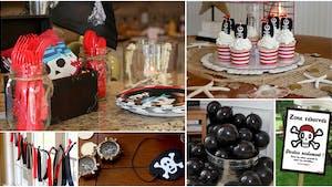 Les idées pour un goûter d'anniversaire Pirate