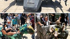 Les incroyables fauteuils roulants Star Wars du San diego Comic Con