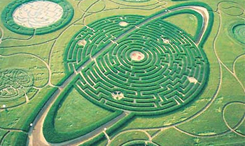 Les labyrinthes naturels
