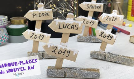 Les marque-places du Nouvel An