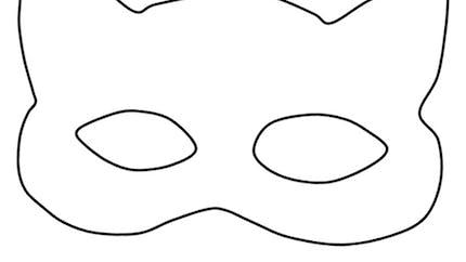 Les masques du Carnaval: le masque de chat