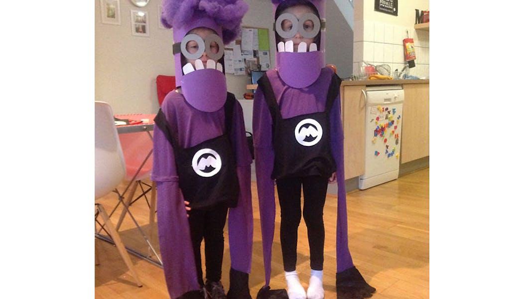Minions déguisements costumes enfants halloween