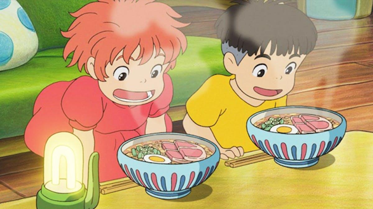 Les nouilles de Ponyo