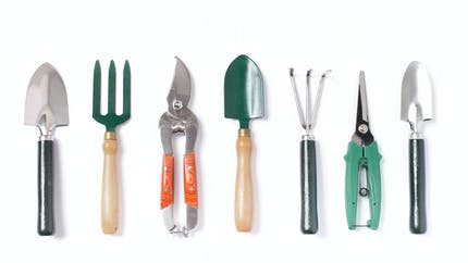 Les outils du jardinier