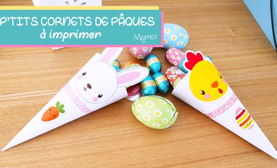 Les p'tits cornets de Pâques