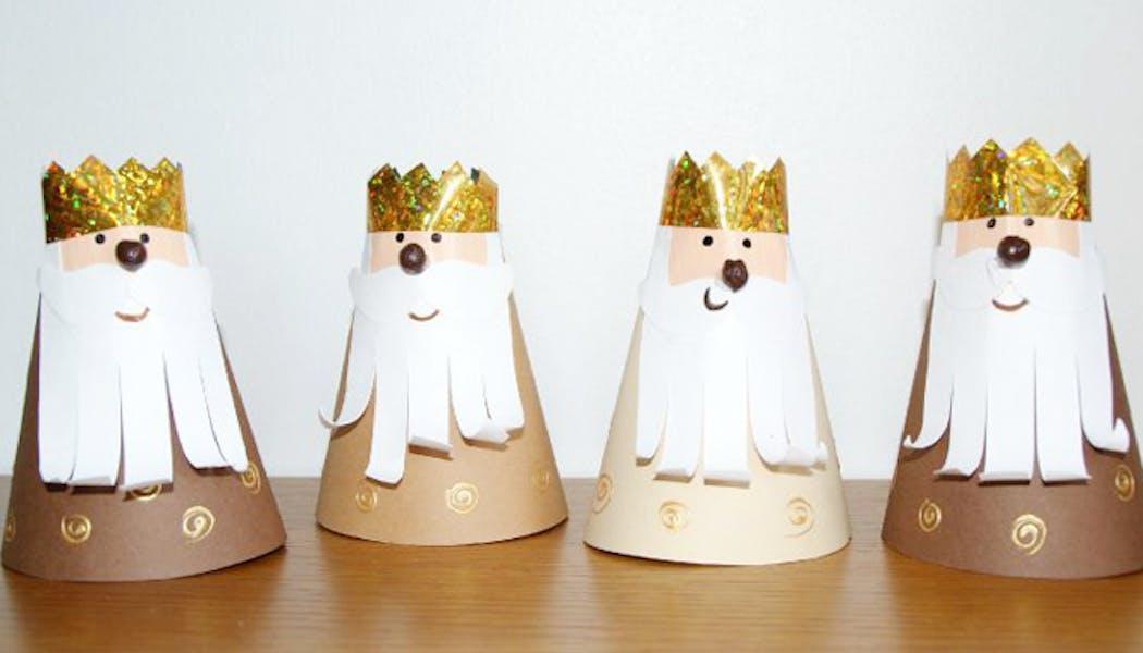 Les rois mages en carton