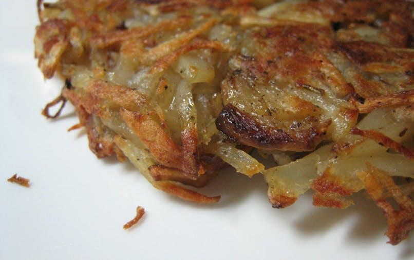 Les rostï, des délicieuses galettes de pommes de       terre