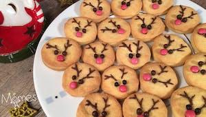 Les sablés rennes de Noël