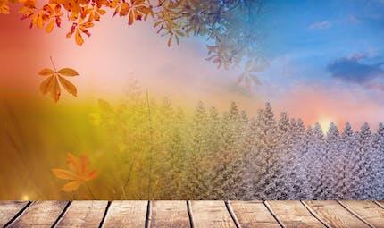 Les saisons, un poème plein d'images