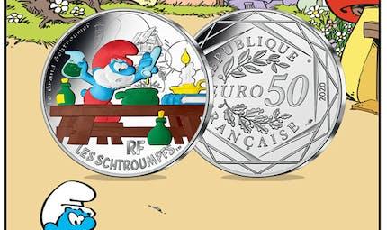 Les Schtroumpfs débarquent à la Monnaie de Paris !