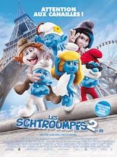 Affiche Les Shtroumpfs 2