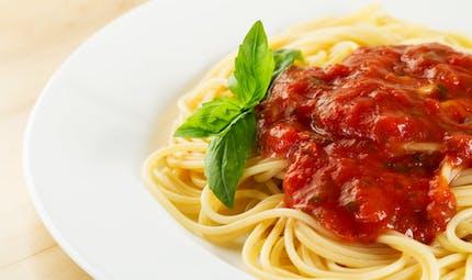 Les super pâtes, une recette de pasta à la tomate et aux épices