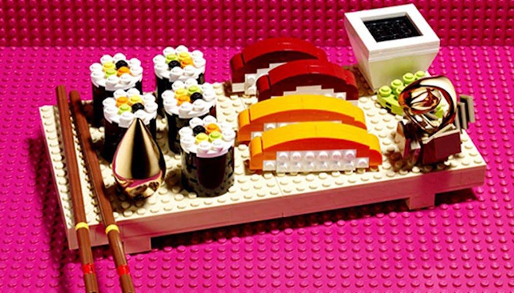 Les sushis LEGO