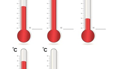 exercice temperature
