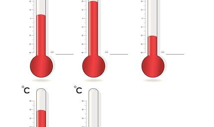 Les températures: exercices