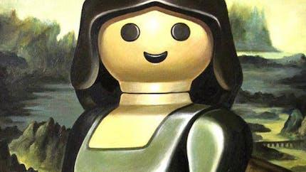 Les toiles de Maîtres détournées façon Playmobil de Pierre-Adrien Sollier s'exposent à Coulommiers