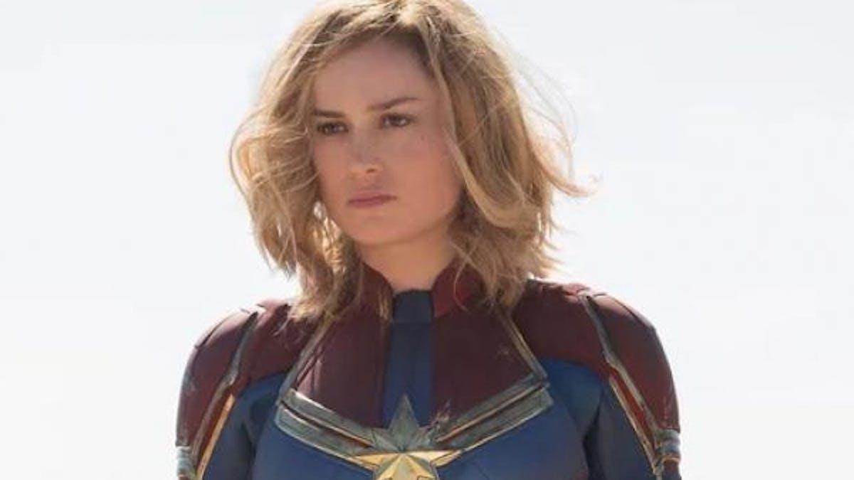 Captain Marvel film premières photos