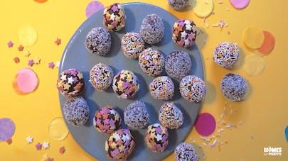 Les truffes au chocolat surfines