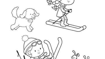 Les vacances au ski