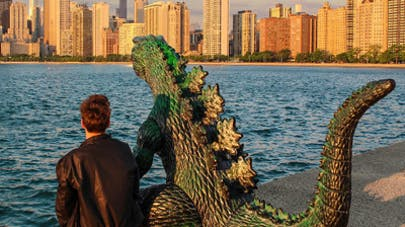 Kieran et Ryan Godzilla photos voyages