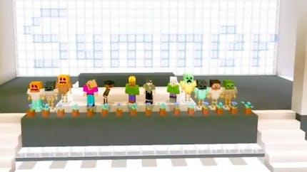 Leur école fermée à cause du Coronavirus, ils créent une remise de diplômes sur Minecraft !