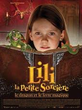 Affiche Lili la Petite Sorcière, le Dragon et le Livre       magique