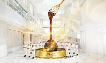 Lindt ouvre un musée du chocolat ressemblant à la chocolaterie de Willy Wonka