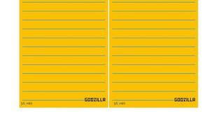 Listes à imprimer Godzilla !